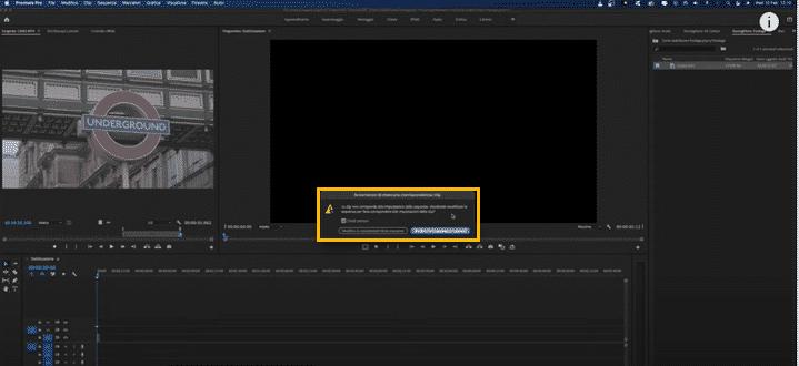 stabilizzare video mosso premiere pro 4