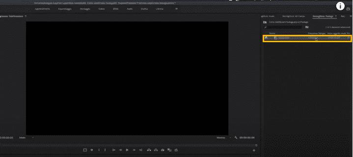 stabilizzare video mosso premiere pro